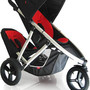 double stroller  Red/Black