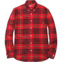 Tartan Flannel Shirt - Red