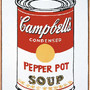 Campbell's Soup Can (Pepper Pot)