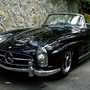 300SL Roadster Black