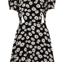 Daisy Print Cutout Teadress