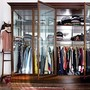 Glass Door Clothes Storage
