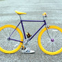 Fixed Gear bicycle Hand Made